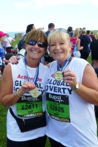 Lesley Moore and Angela McCullough