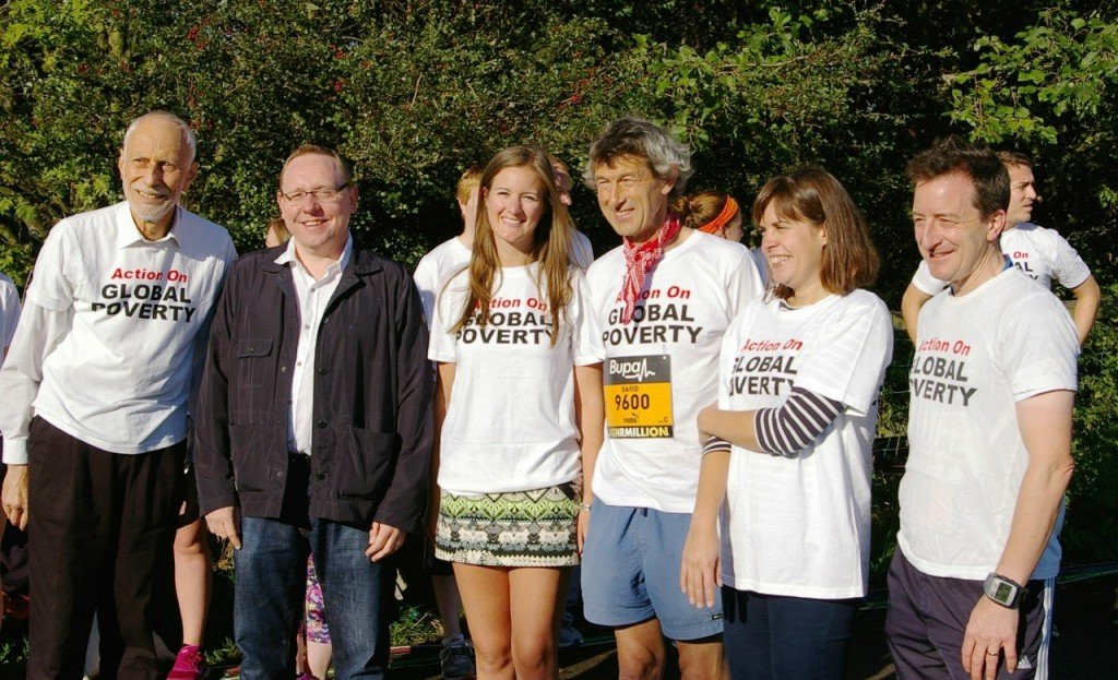 """Group with Phil Taylor"": l-r, David Golding, Prof Phil Taylor, Claire Boothman, Prof David Leat (Team Captain), Sarah-Jayne Clifton, and Hugh Potter"
